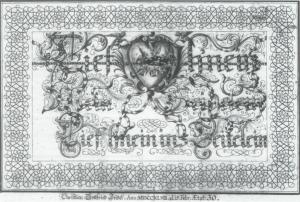 """""""Lief heim ins Seitelein."""" Unitätsarchiv, R.20.E.36.12. Archiv der Brüder-unität, Herrnhut. http://bq.blakearchive.org/40.3.schuchard"""